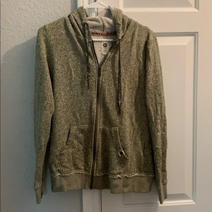 Roxy size medium olive heathered sweatshirt